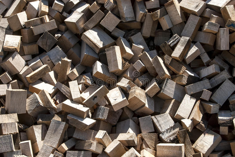 Pile Of Wood Cuttings Royalty Free Stock Images