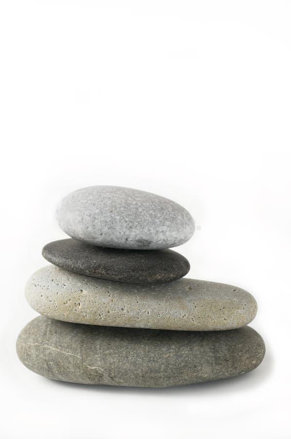 Pile of zen stones royalty free stock photos
