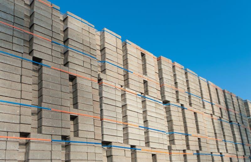 Piled Up Bricks Royalty Free Stock Image