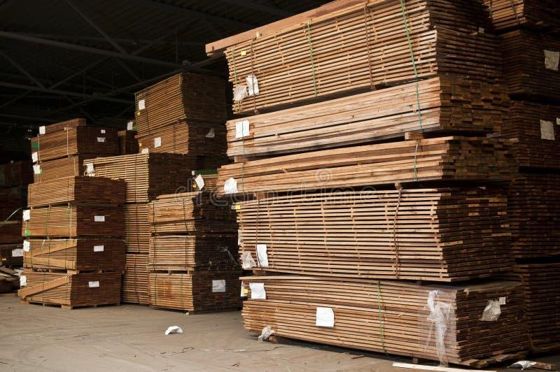 Piles de bois dur photo stock