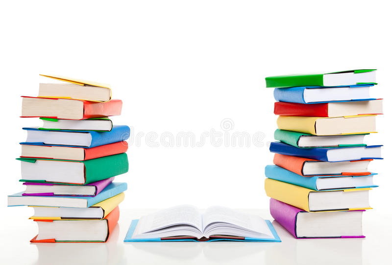 Piles de livres photos stock