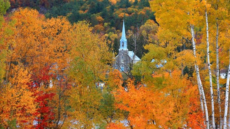 Piles ville, Québec, Canada de Grandes photos libres de droits