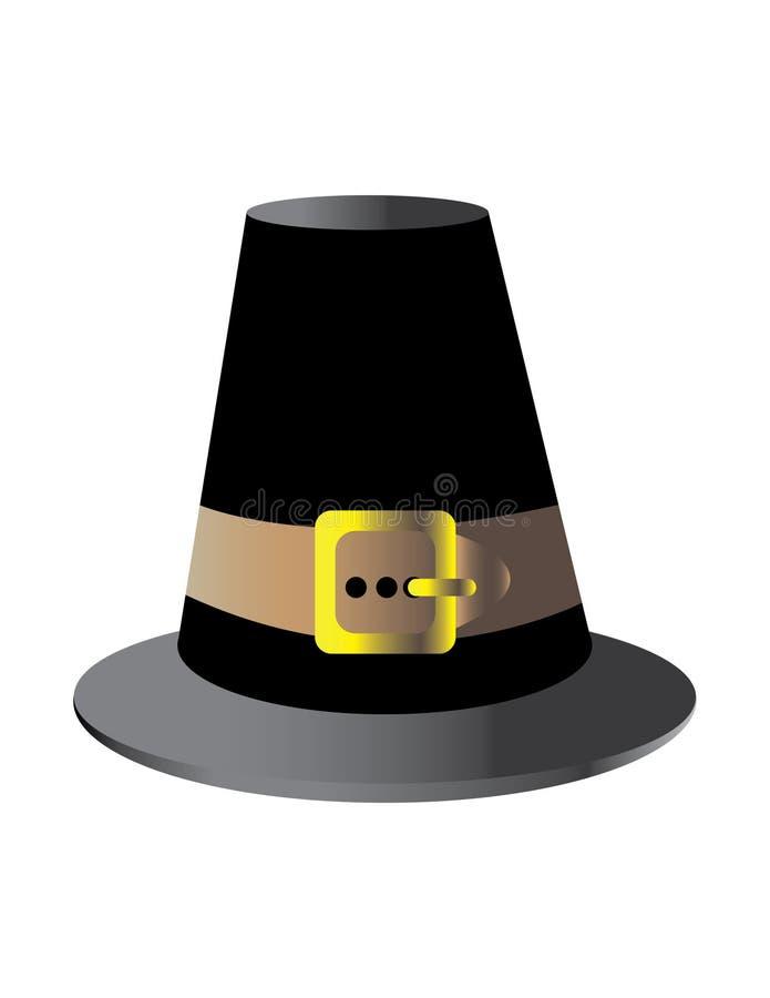 Pilgerer-Hut vektor abbildung