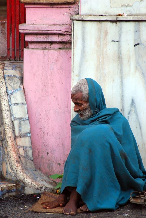 Pilgerer, Jammu, Indien lizenzfreies stockfoto