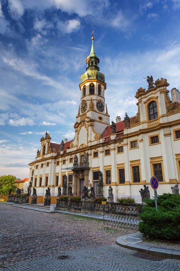 Pilgerplatz Loreta-Kirche in Prag lizenzfreie stockbilder