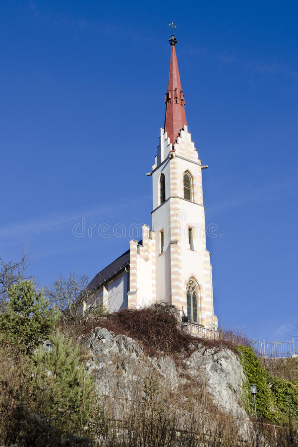 Free Pilgrim Church Mary At `Locherboden` Royalty Free Stock Image - 83618366