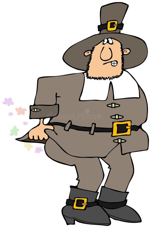 Download Pilgrim stock illustration. Illustration of pilgrim, male - 35232893