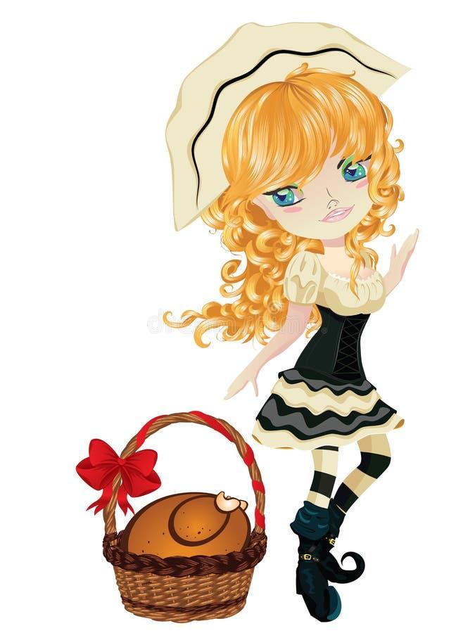 Free Pilgrim Girl Royalty Free Stock Images - 62175689