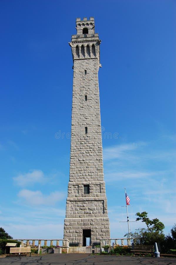 Pilgrim Monument, Cape Cod, Massachusetts. Pilgrim Monument in Cape Cod, Massachusetts, USA stock photography