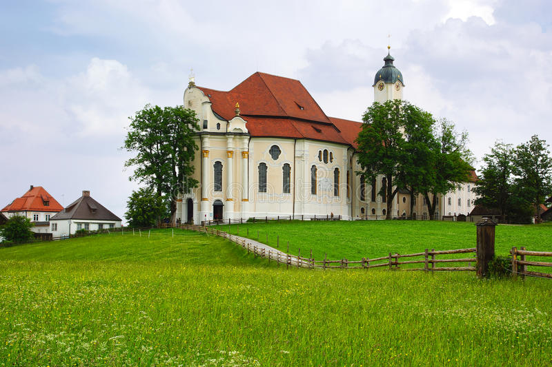 Download Pilgrimage Church Wieskirche In Wies, Germany Stock Image - Image: 27557013