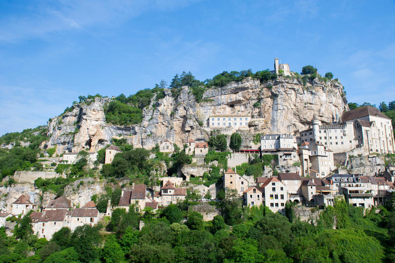Download Pilgrimage Village Rocamadour Stock Photo - Image of pilgrimage, landmark: 34432812