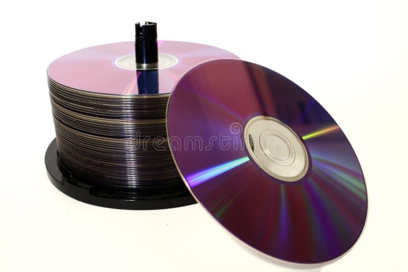 Pilha CD foto de stock