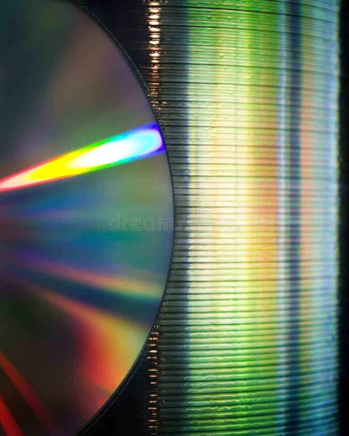 Pilha CD imagens de stock