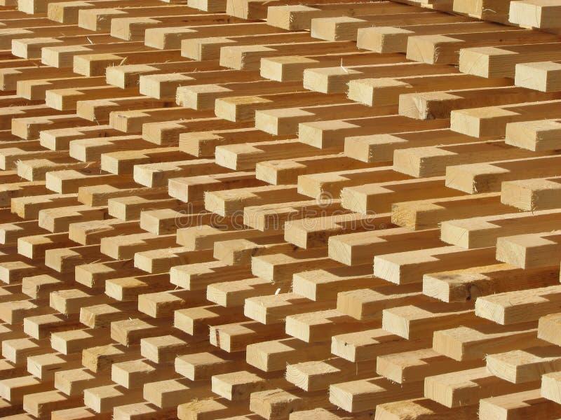 Pilha da madeira fotos de stock royalty free