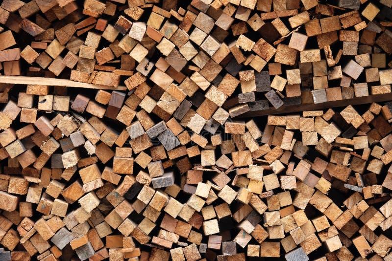 Pilha da madeira, pilha de madeira foto de stock royalty free