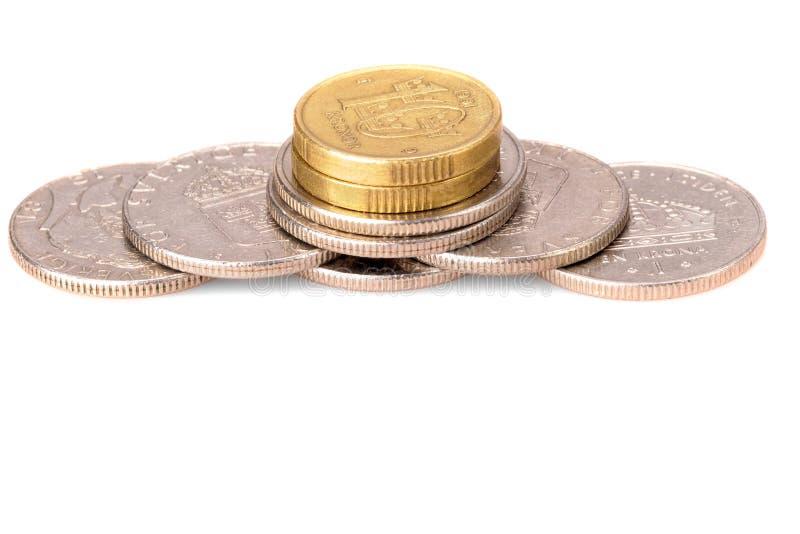 Download Pilha da moeda imagem de stock. Imagem de cobre, pilha - 10060197
