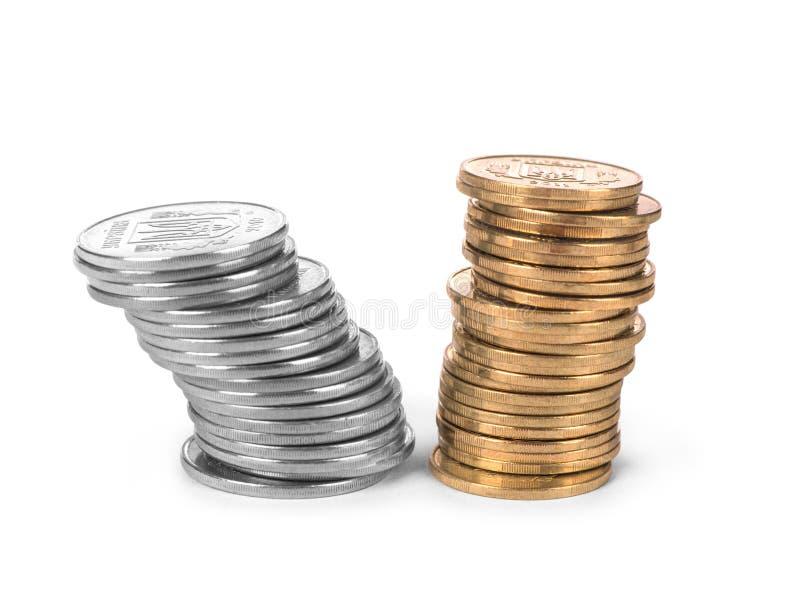 Pilha da moeda foto de stock royalty free