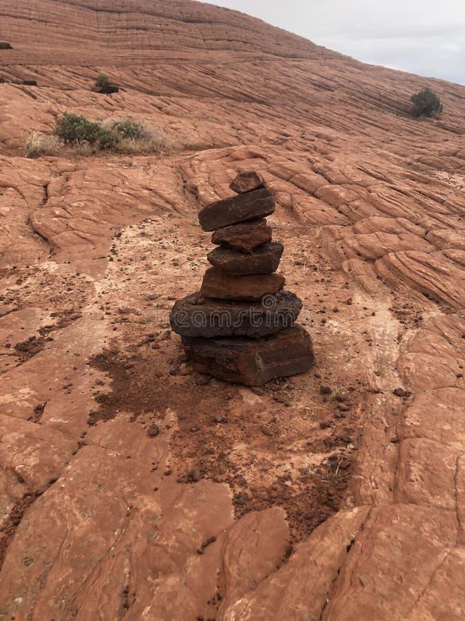 Pilha da rocha imagens de stock royalty free