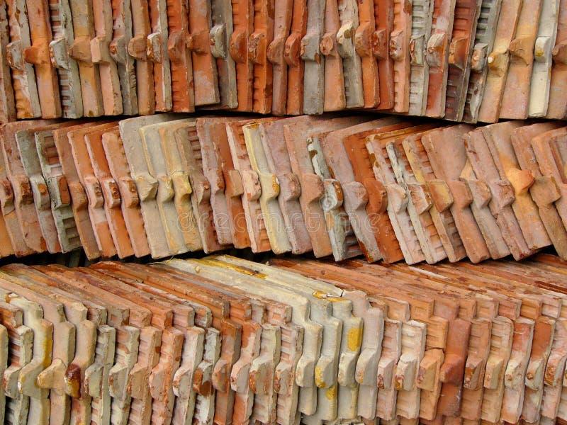 Download Pilha da telha imagem de stock. Imagem de banguecoque, buddhist - 107597