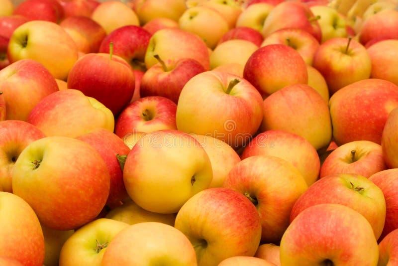 Pilha das maçãs fotografia de stock royalty free