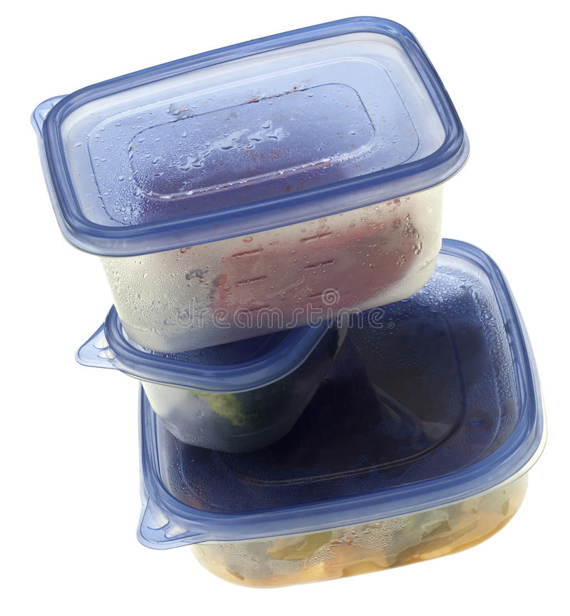 Pilha de alimento restante foto de stock royalty free