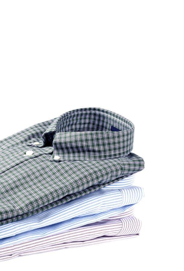 Pilha de camisas dos homens imagem de stock royalty free