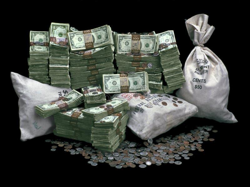 Pilha de dinheiro imagem de stock royalty free