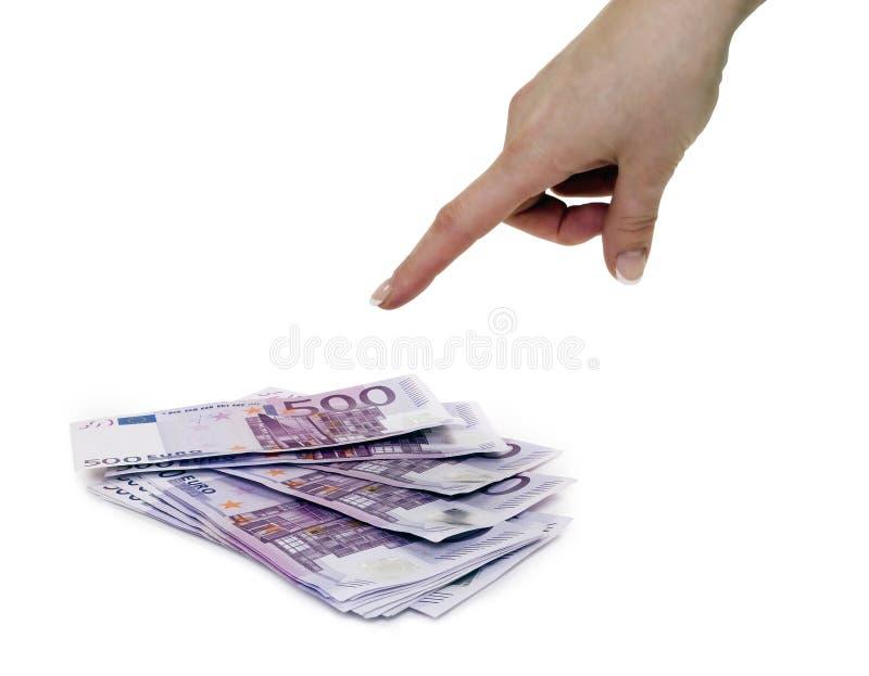 Pilha de dinheiro fotos de stock royalty free