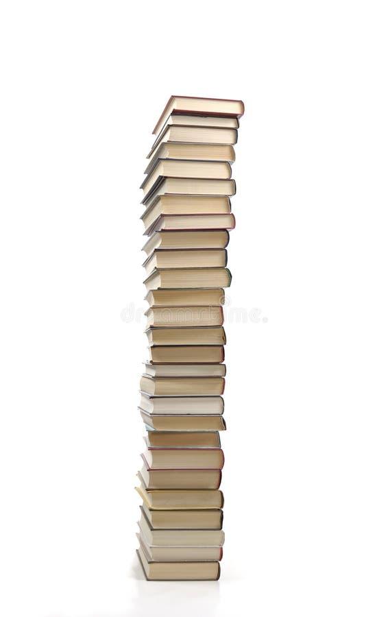 Pilha de livro imagens de stock