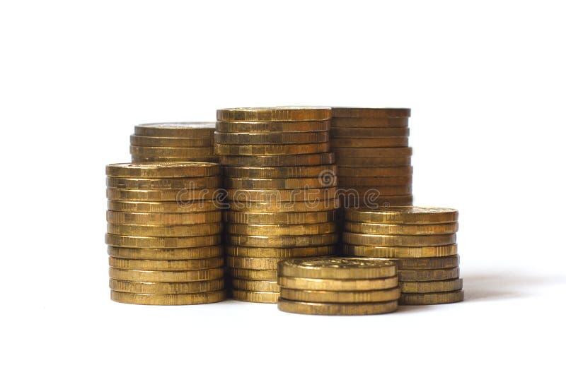 Pilha de moedas ilustração do vetor