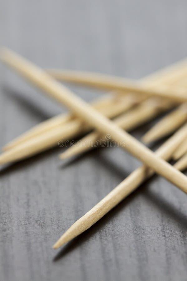 Pilha de palitos de madeira foto de stock royalty free