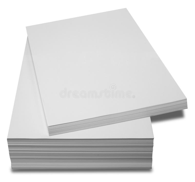 Pilha de papel foto de stock