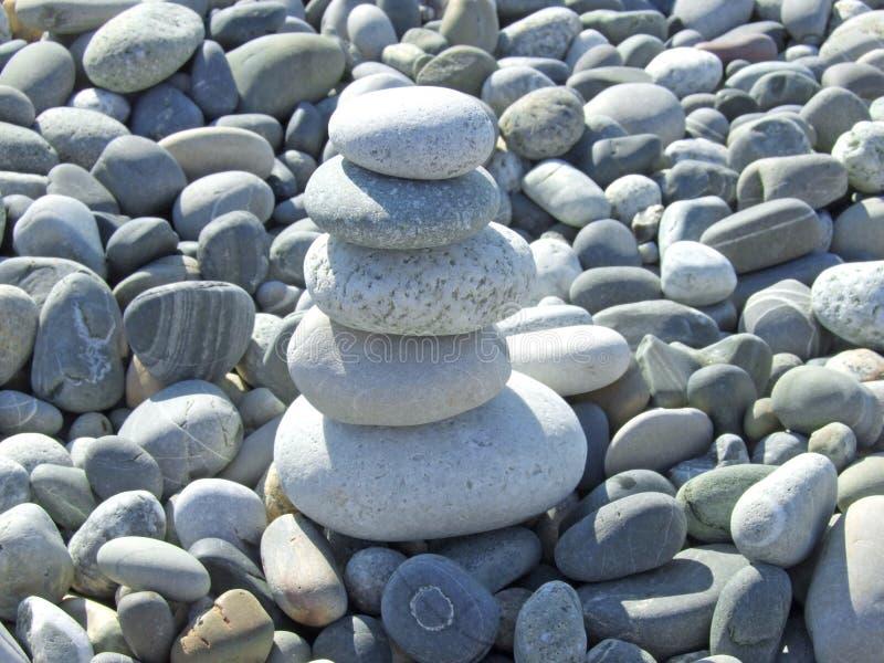 Pilha de pedra fotos de stock