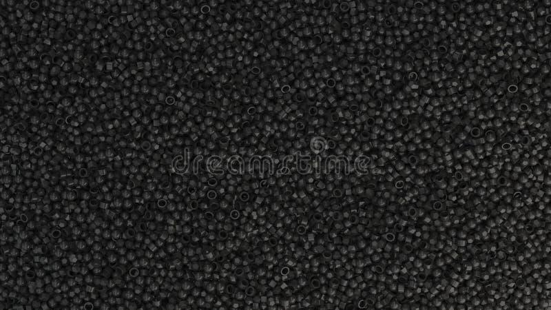 Pilha de primitivos pretos ilustração do vetor