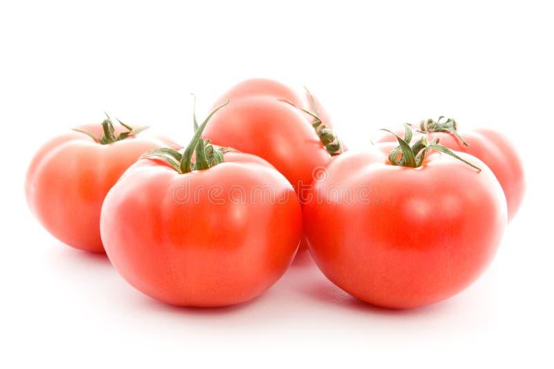 Pilha de tomates vermelhos. foto de stock royalty free