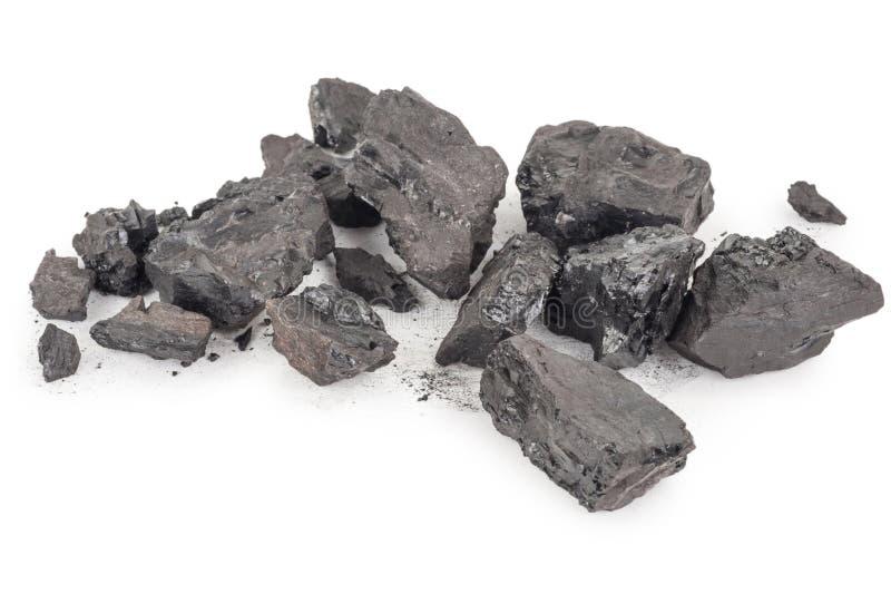 Pilha do carvão fotos de stock royalty free