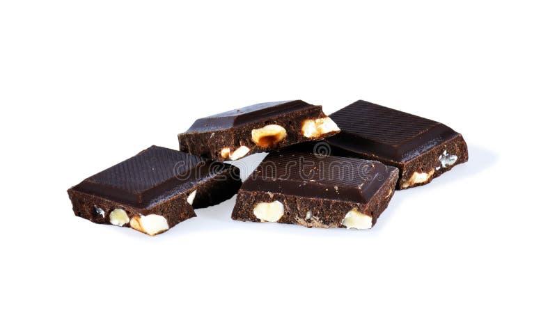 Pilha do chocolate foto de stock