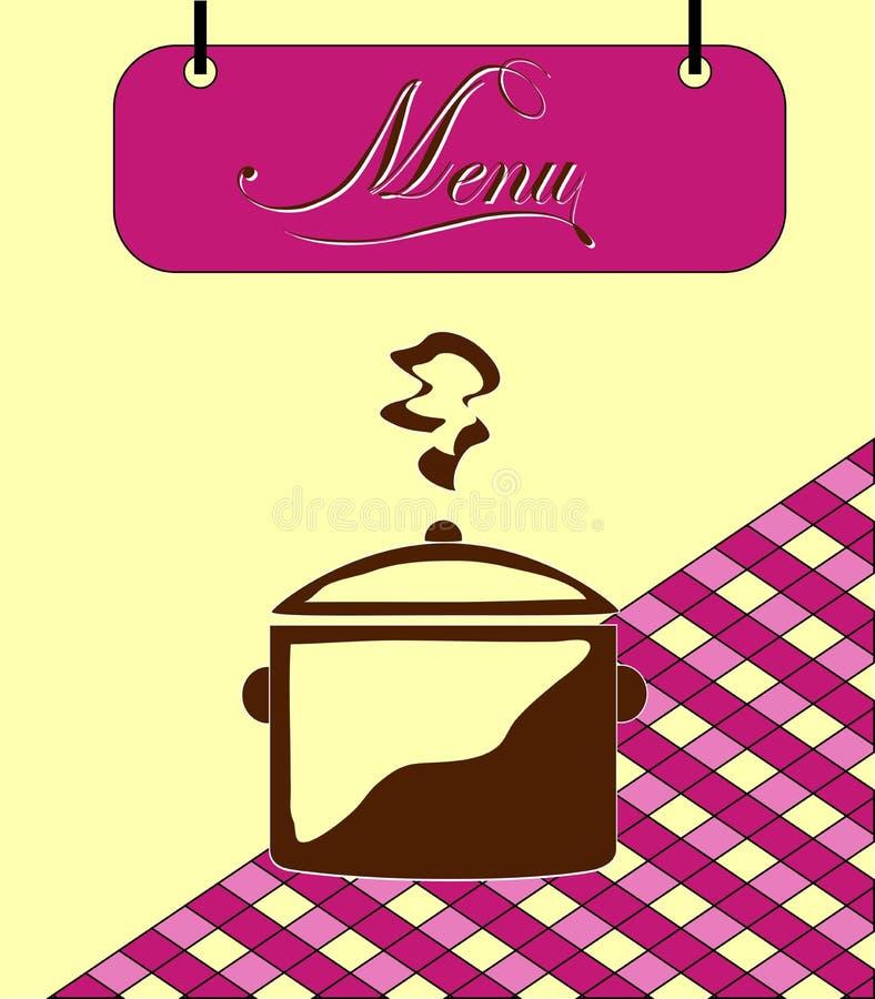 Download Pilha Do Menu De Borgonha Do Sinal Com Potenciômetro. Vetor Ilustração Stock - Ilustração de luxo, cumprimento: 29842168