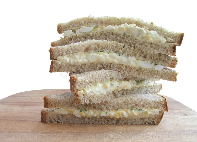 Pilha do sanduíche imagem de stock royalty free