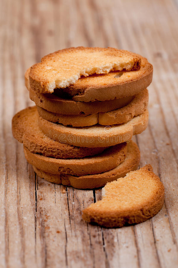 Pilha dos biscoitos do petisco imagens de stock