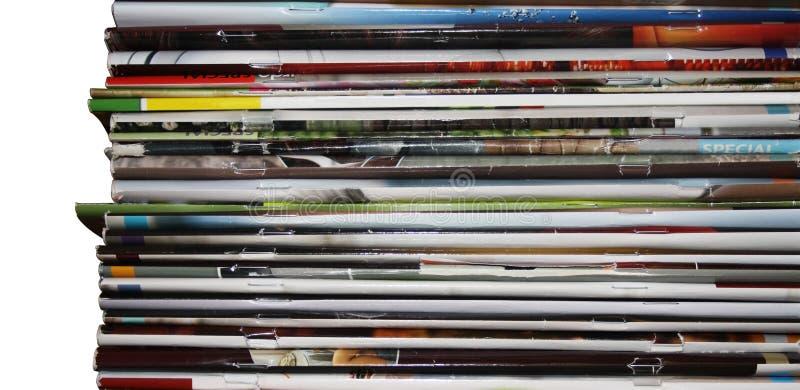 Pilha dos compartimentos imagem de stock