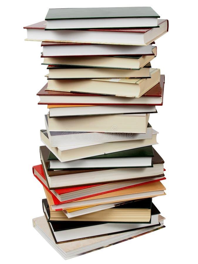 Pilha dos livros foto de stock royalty free
