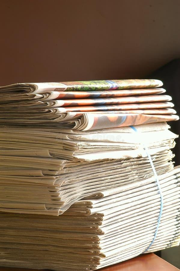 Pilha dos papéis imagens de stock royalty free