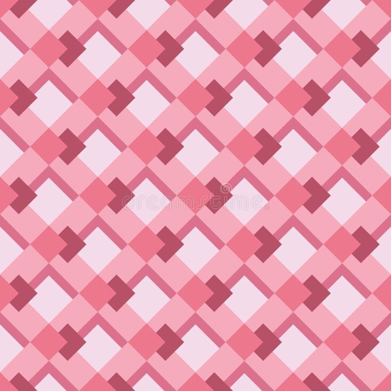 Pilhas cor-de-rosa ilustração royalty free