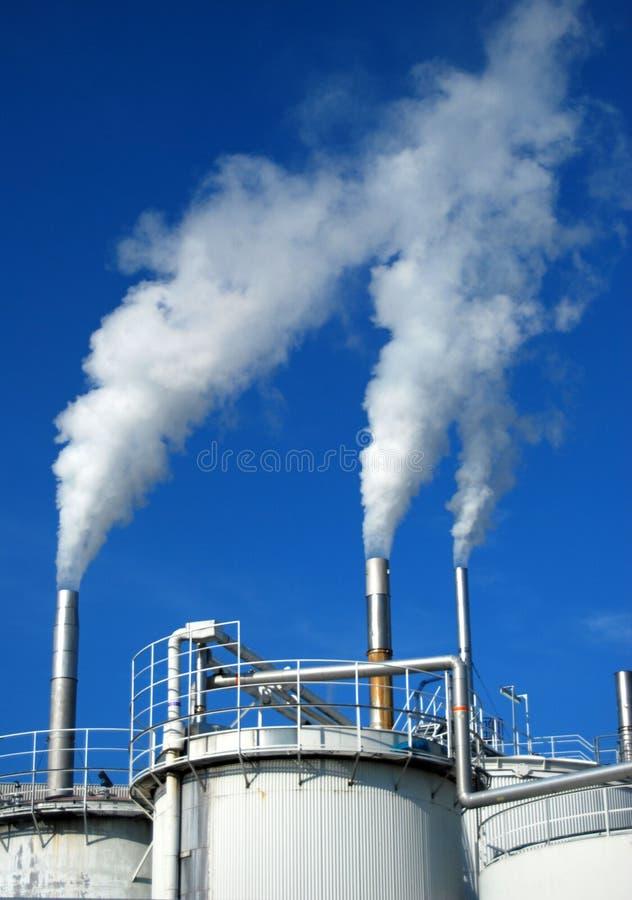 Pilhas de fumo imagem de stock royalty free