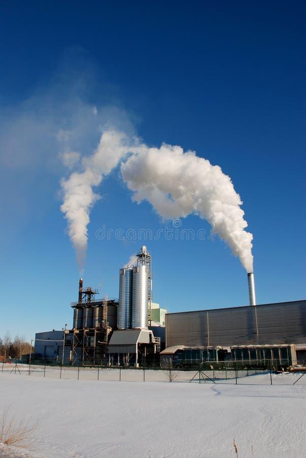 Download Pilha de fumo imagem de stock. Imagem de energia, ensolarado - 29830159