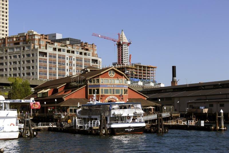 Pilier 55 à Seattle photo stock