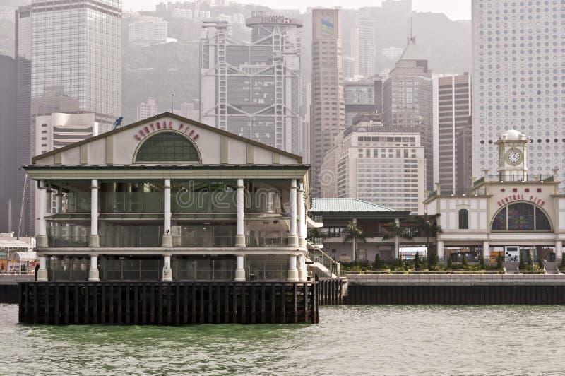 Pilier central, Hong Kong images libres de droits