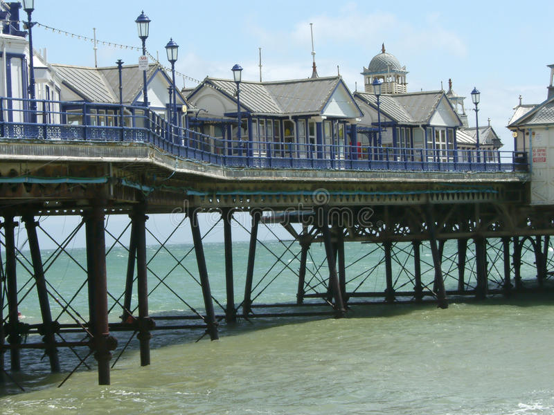 pilier d'Eastbourne images stock