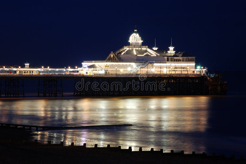 Pilier d'Eastbourne photographie stock